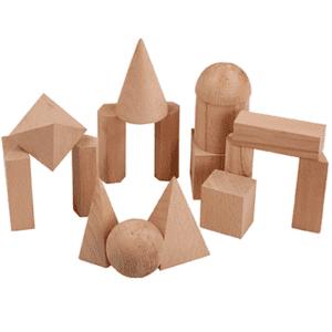 Holz-Geometriekoerper