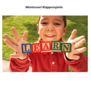 Klappenspiele von Montessori