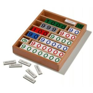 Montessori-Bankspiel