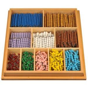 Montessori-Perlenstäbchen