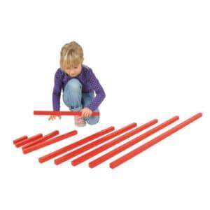 Montessori-rote-Stangen