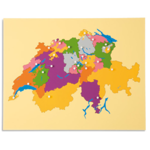 Puzzlekarte-Schweiz