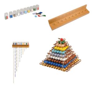 Montessori perlenmaterial