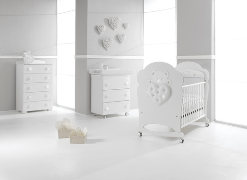 Babybett Elite mit Swarovski Elements