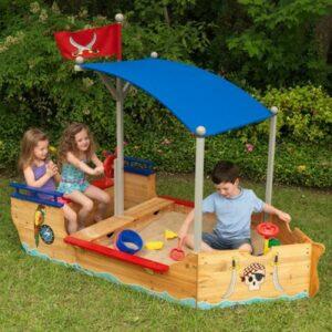 kidkraft piraten sandboot