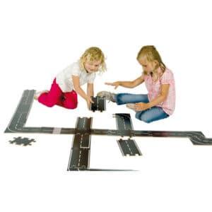 Puzzleteile Strassenbau