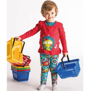 Kinder einkaufskörbe