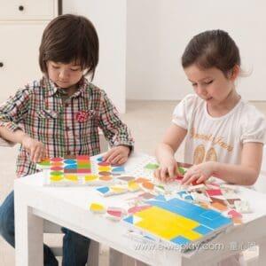 steckboard puzzle