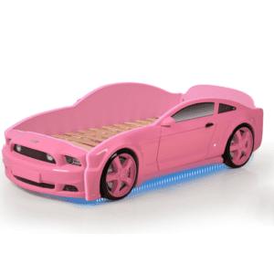 Autobett-Light-MG-3D-Rosa