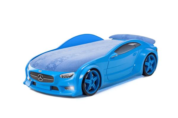 Autobett Mercedes Neo blau