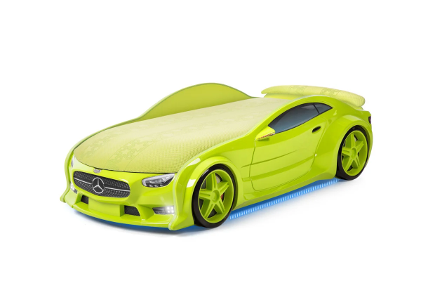Autobett Mercedes Neo neogruen