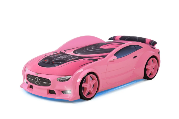 Autobett Mercedes Neo pink