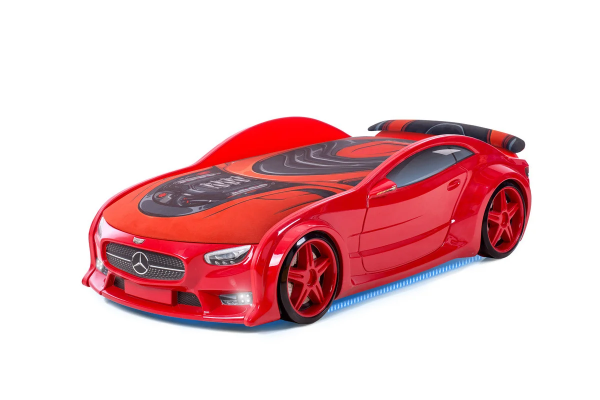 Autobett Mercedes Neo rot