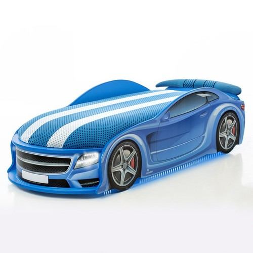 Autobett Uno Star Blau Full