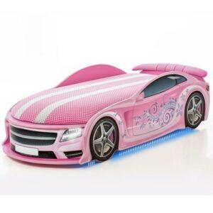 Autobett Uno Star Rosa