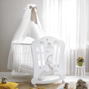 Babybett Savana White