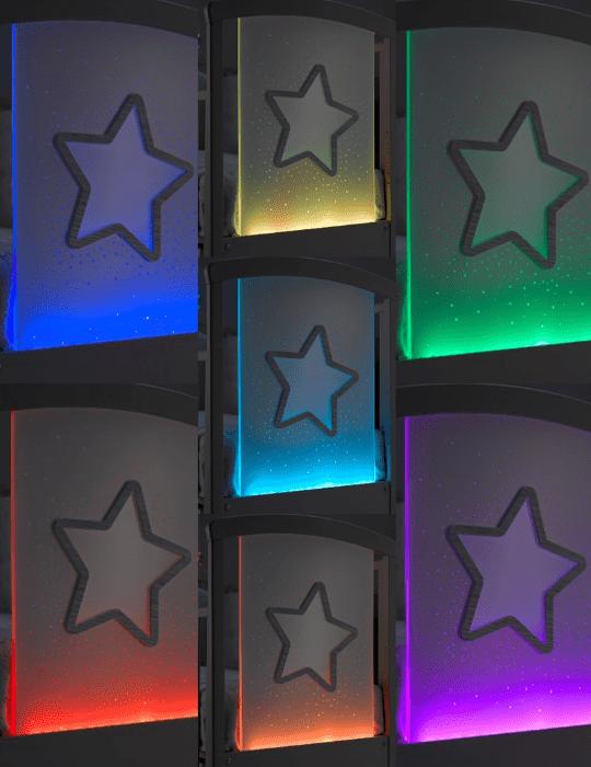 Babybett Star Magic Color