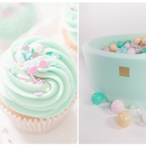 Baellebad Cupcake