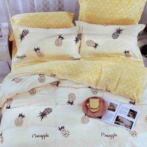 Bettwäsche Ananas