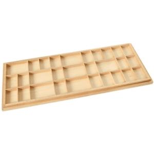 Box für Bewegliches Alphabet