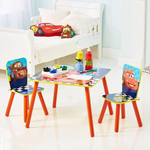 disney cars tisch set f r kinder nur bei. Black Bedroom Furniture Sets. Home Design Ideas