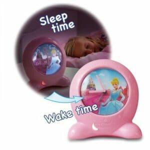 Disney Nachtlicht und Uhr 2in1