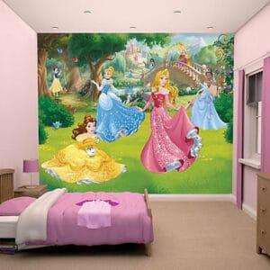 Disney Princess Wandbild