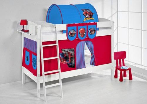 Vorhang Etagenbett Feuerwehr : Etagenbett spiderman online kaufen in der kinderspielewelt