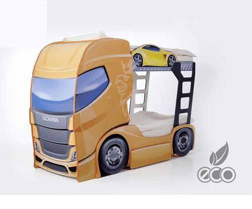 Etagenbett Truck mango