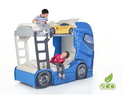 Etagenbett Cars : Etagenbett truck komplett online kaufen in der kinderspielewelt.ch