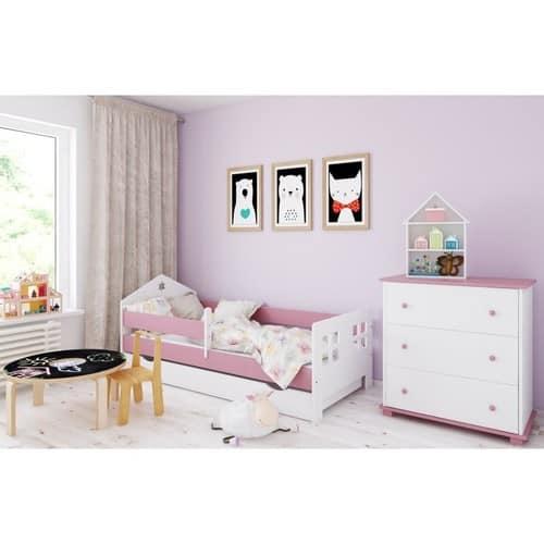 Haus Bett rosa