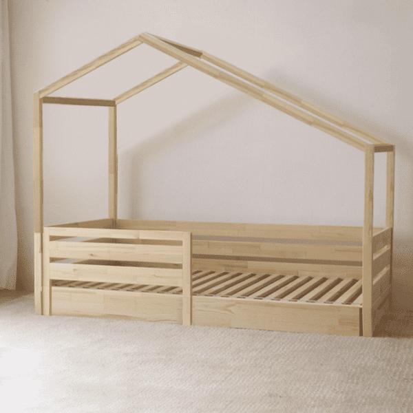 Hausbett Pisa ohne Schubladen