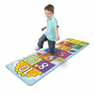 Huepfspiel Teppich