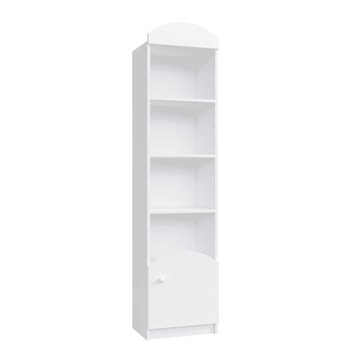 Kinder Bücherregal Classic Weiß