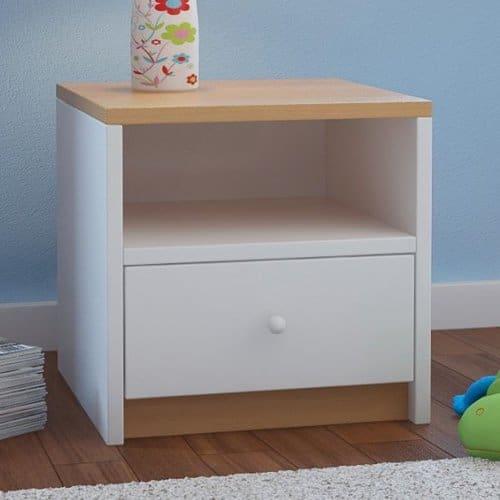 nachttisch buche nachbildung nachttisch nt buche oder wildeiche in farben mit schublade with. Black Bedroom Furniture Sets. Home Design Ideas