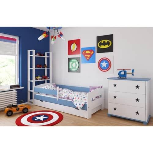 Kinderbett Adas hellblau