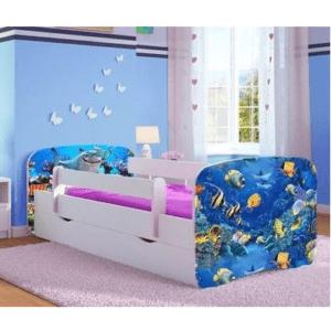 Kinderbett Aquarium
