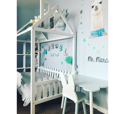 Kinderbett Bauernhaus