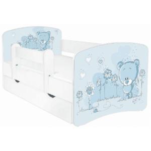 Kinderbett Blauer Teddy
