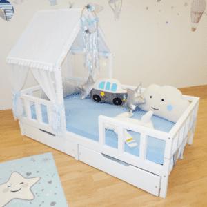 Kinderbett Blue House