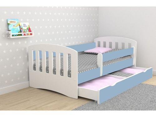 Kinderbett Classic Blau