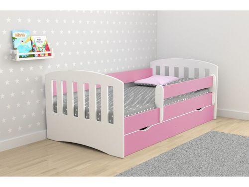 Kinderbett Classic rosa