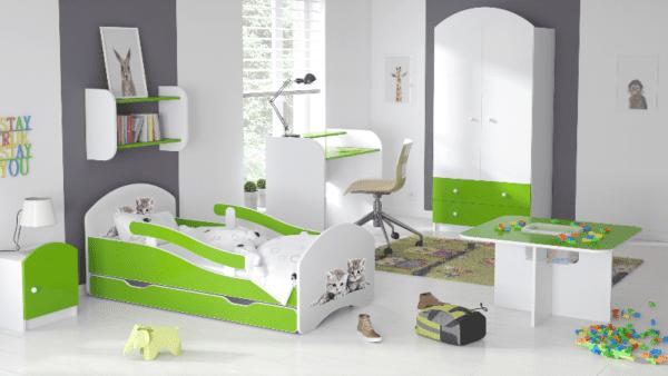 Kinderbett Deluxe Buesi gruen