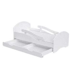 Kinderbett Deluxe Classic Weiß