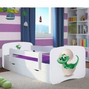 Kinderbett Dino im Ei