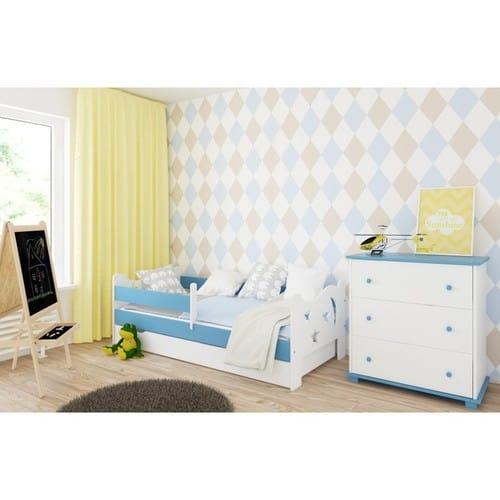 Kinderbett Dreamstar hellblau