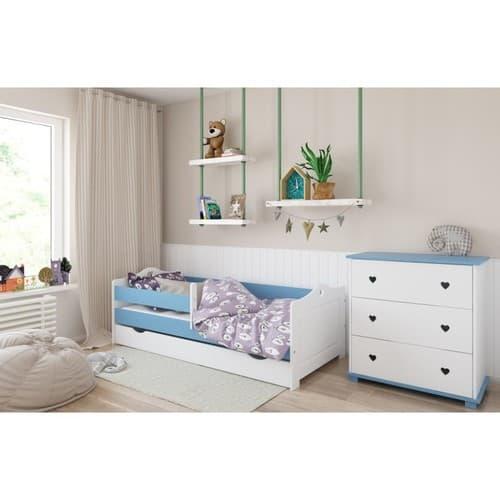 Kinderbett Emmi hellblau
