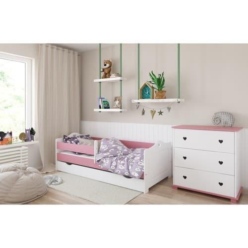 Kinderbett Emmi rosa