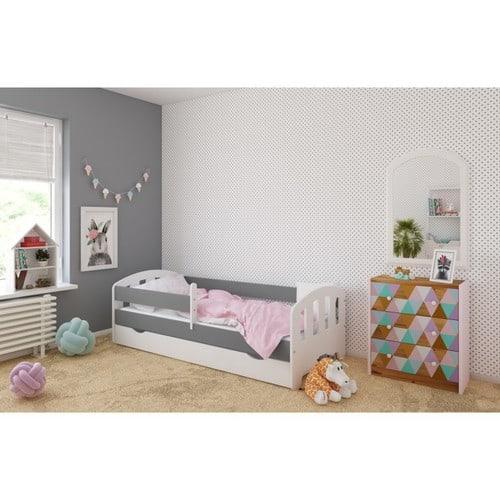 Kinderbett FIFI grau