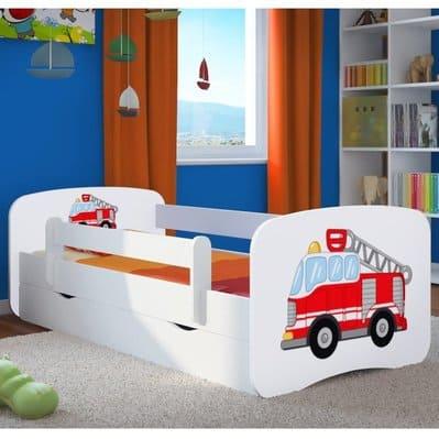 Kinderbett-Feuerwehr
